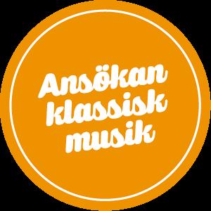 Ansökan Klassiska musiklinjen